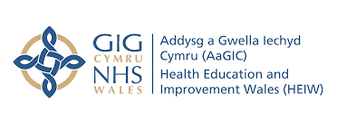 Health Education and Improvement Wales NHS logo